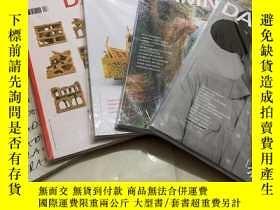 二手書博民逛書店法國建築藝術雜誌罕見DAMN 2017年4本加2018年1本 5本打包合售攝影 雙月刊Y343790
