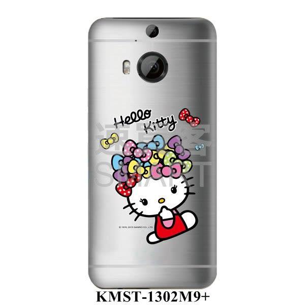 Hello Kitty 三麗鷗正版授權HTC M9Plus 快速包膜 第13代
