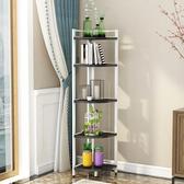 小C推薦角櫃轉角櫃簡約現代多功能牆角櫃鋼木置物架落地客廳臥室儲物
