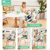 teknum寶寶餐椅吃飯便攜式可折疊兒童飯桌座椅多功能嬰兒餐桌椅子
