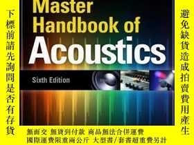 二手書博民逛書店Master罕見Handbook Of Acoustics, Sixth EditionY256260 Ken