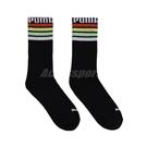 Puma 襪子 Classic Sock 男女款 黑 台灣製 單雙入 長襪 經典logo【ACS】 BB1298-01