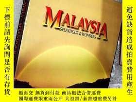 二手書博民逛書店MALAYSIA罕見SPLENDOUR & WONDERS(馬來