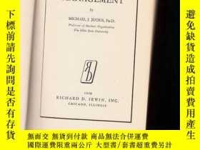 二手書博民逛書店PERSONNEL罕見MANAGEMENT【1948年版精裝、3