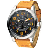 Timberland 型男飛行日誌時尚腕錶 TBL.14644JS/05