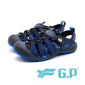 G.P 戶外越野護趾鞋 男鞋-藍(另有黑/綠)