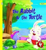 (二手書)龜兔賽跑(初級4):The Rabbit & the Turtle(1CD)