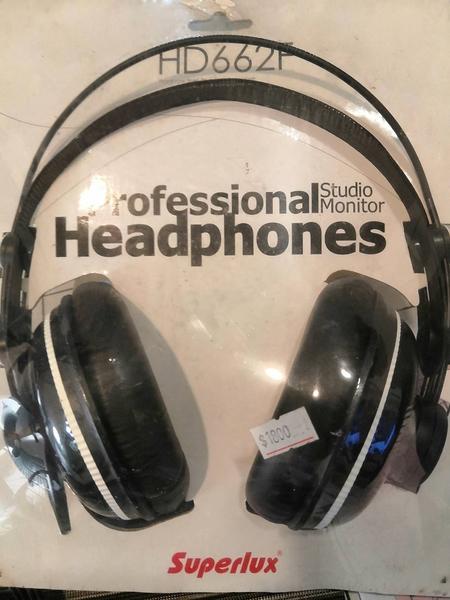 【鼎立】Superlux HD662F 專業監聽耳機 封閉式 耳罩式 頭戴式 公司貨