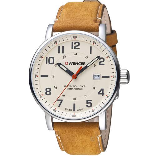 瑞士WENGER Attitude 態度系列 野營生活時尚腕錶 01.0341.109