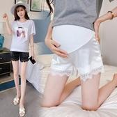 孕婦超短褲夏裝真絲三分時尚托腹潮媽孕期孕婦褲夏天打底   聖誕交換禮物