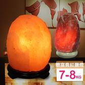 【鹽夢工場】玫瑰鹽燈兩入組(玫瑰7-8kg|富貴紅2-4kg)