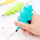 【BlueCat】彩色立體樹葉造型油性筆