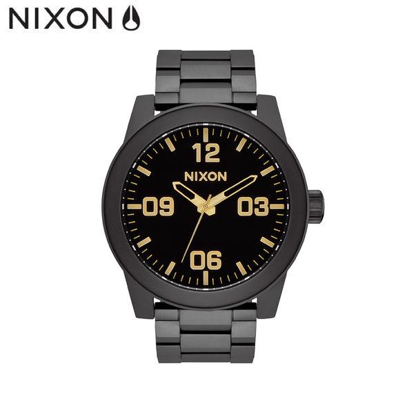 NIXON潮流鋼錶帶手錶