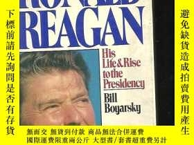 二手書博民逛書店Ronald罕見Reagan: His Life and Rise to the Presidency 罗纳德.里