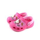 Hello Kitty 凱蒂貓 花園鞋 涼鞋 桃紅色 中童 童鞋 819272 no817 15~20cm