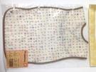 日本Hoppetta蘑菇可折疊口袋無袖bib-米黃48×25cm -超級BABY