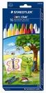 STAEDTLER Noris天然蜂蠟油蠟筆16色入MS2240C16