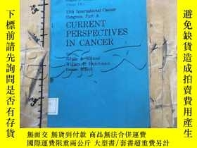 二手書博民逛書店Cancer:罕見Current Perspectives in