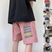 運動褲男夏季寬鬆短褲情侶款潮流百搭五分休閒褲 米娜小鋪