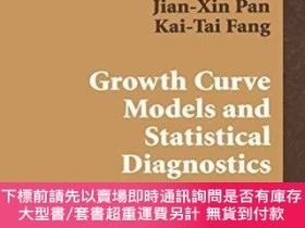 二手書博民逛書店Growth罕見Curve Models With Statistical DiagnosticsY25517