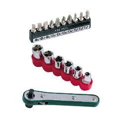 Pro sKit 寶工 1PK-202B 16合1直匣式棘輪雙頭替換板手組