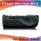 高雄 晶豪泰 品色 pixel 電池手把 D14 for Nikon D600
