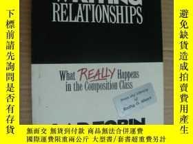 二手書博民逛書店WRITING罕見RELATIONSHIPS:What real