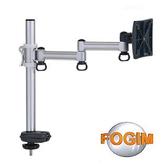 [富廉網] FOGIM TKLA-5082C4-S-A 穿桌懸臂式液晶螢幕支架-單螢幕