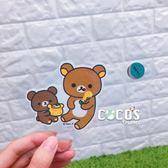 正版 SAN-X 拉拉熊 懶懶熊 牛奶妹 防水貼紙 貼紙 機車貼 B款 COCOS KS180