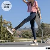 《KS0807》台灣製拼接網布束褲/瑜珈褲 OrangeBear