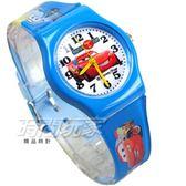 Disney 迪士尼 時尚卡通手錶 汽車總動員 CARS 兒童手錶 數字 男錶 藍色 DCARSB01小