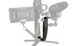 Ulanzi  DH03 L型鋁合金手把支架, 方便各廠牌穩定器擴充加裝手機麥克風等更多配件