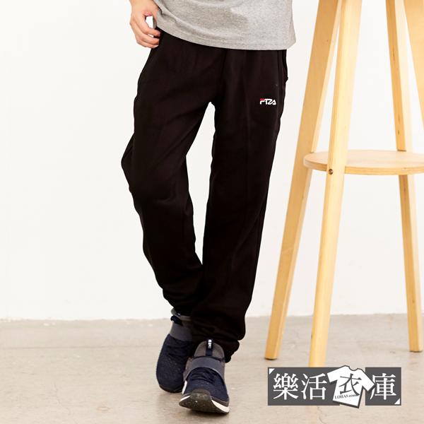 抗寒加厚刷毛縮口運動休閒長褲 棉褲(共二色)● 樂活衣庫【P0806】