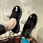 鞋子女2018新款春季單鞋軟妹小皮鞋學生百搭原宿女鞋【週年店慶好康八五折】