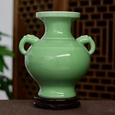 景德鎮陶瓷器古典仿古花瓶全手工影青客廳博古架家飾家居擺件igo   酷男精品館