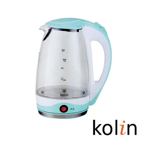 【艾來家電】【分期0利率+免運】KoLin 歌林保溫玻璃快煮壺 KPK-DL1805G