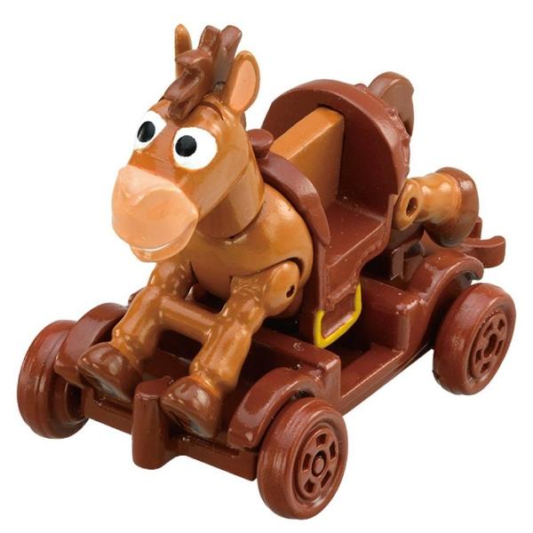 TOMICA 玩具總動員小汽車 紅心&木製推車