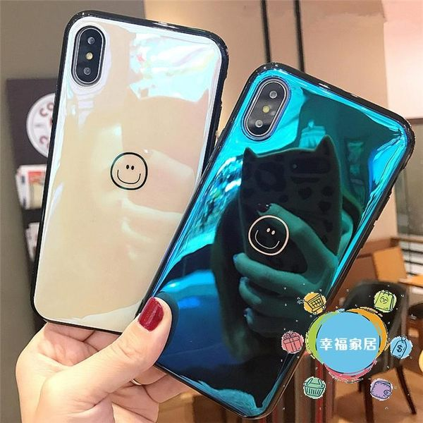 手機殼蘋果X藍光iphone8手機殼6s外殼7plus可愛4.7情侶7保護套5.5軟款