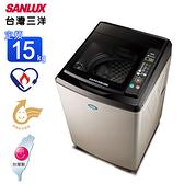 SANLUX台灣三洋媽媽樂15kg超音波定頻單槽洗衣機 SW-15NS6~含基本安裝+舊機回收