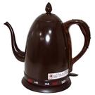 丞漢 咖啡色烤漆1.5 公升不鏽鋼電茶壺 快煮壺 CT-170