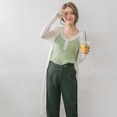 《FA0837》絲光棉透膚素色/條紋開襟長版外套.14色--適 XL~5L OrangeBear