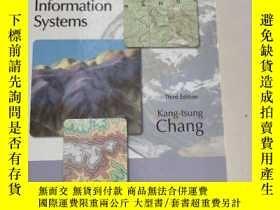二手書博民逛書店Introduction罕見to Geographic Information Systems地理信息系統概論[第