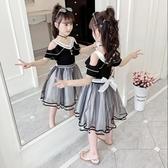 女童洋裝女童連衣裙夏裝2020新款4兒童洋氣公主裙大童裝5女孩夏天裙子7歲8【全館免運八五折】
