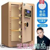 歐奈斯指紋密碼保險櫃家用60cm辦公入墻保險箱小型防盜報警保管箱 愛麗絲LX