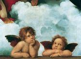 【拼圖總動員 PUZZLE STORY】西斯廷聖母的小天使(作者:拉斐爾) 義大利/Clementoni/名畫/1000P