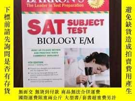 二手書博民逛書店Barron s罕見SAT Subject Test Biology E M, 4th EditionY128