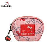 【橘子包包館】Hello Kitty 繽紛凱蒂-零錢包-粉 KT01V05PK 零錢包