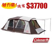 【偉盟公司貨】丹大戶外【Coleman】美國氣候達人2Room Coach 五人CM-22111