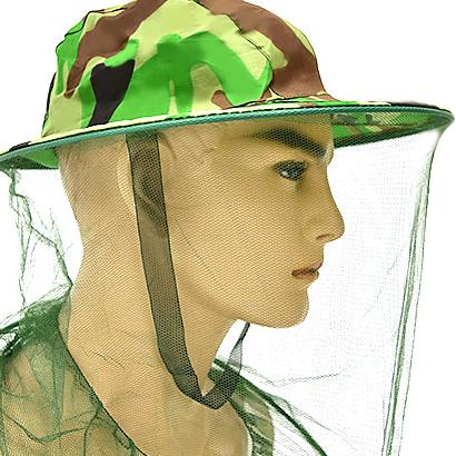 全罩式透氣防蚊帽.防蚊蟲帽防蚊網帽.遮陽帽迷彩帽釣魚帽.露營防蟲帽防蜂帽補蜂帽.蚊帳帽頭套