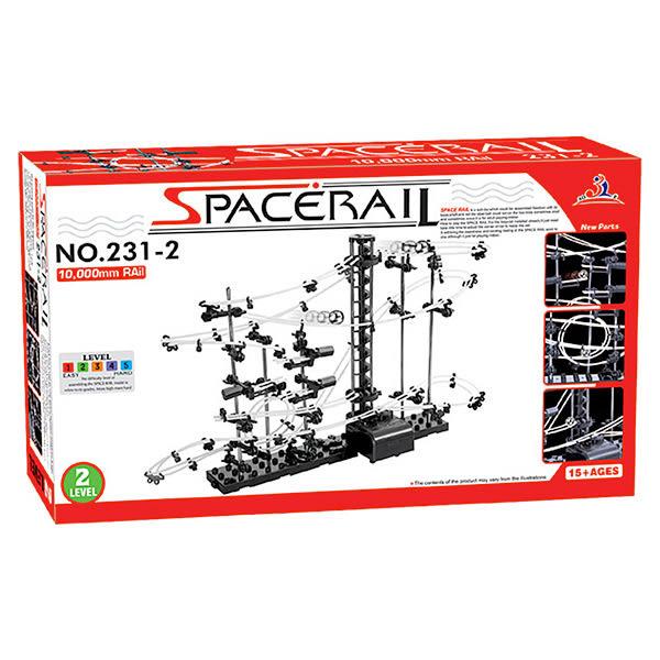 賽先生科學工廠 科學玩具 組裝模型 Spacerail曲速引擎 瘋狂雲霄飛車 等級2